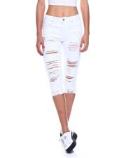 Fashion Lab - Distressed Denim Capri-2327854