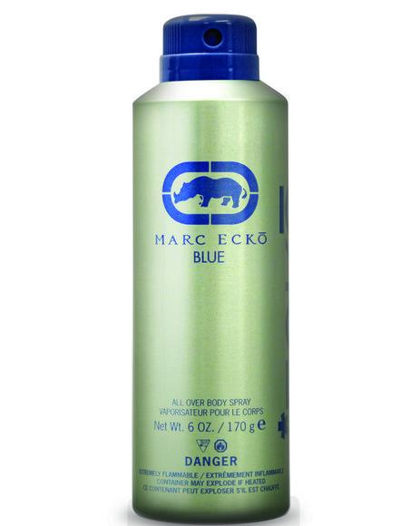 DRJ Fragrance Shop - Marc Ecko Blue 6.0 Fl Oz Body Spray