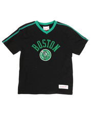 Mitchell & Ness - Overtime Win V-Neck Boston Celtics T-Shirt (8-20)-2326898