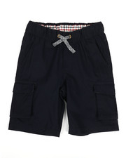 Bottoms - Shorts W/ Marled Drawcord (8-20)-2326928