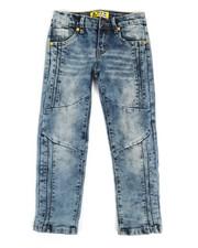 Boys - Ribbed Moto Stretch Jeans (4-7)-2326923
