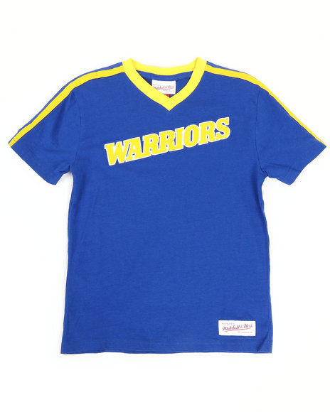 Mitchell & Ness - Overtime Win V-Neck GS Warriors T-Shirt (8-20)