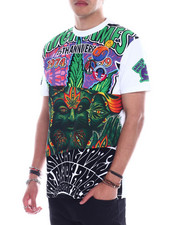 High Times - 1974 mash up cut and sew tee-2330619