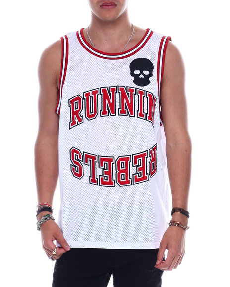 BWOOD - No Luve Running Rebels  Tank