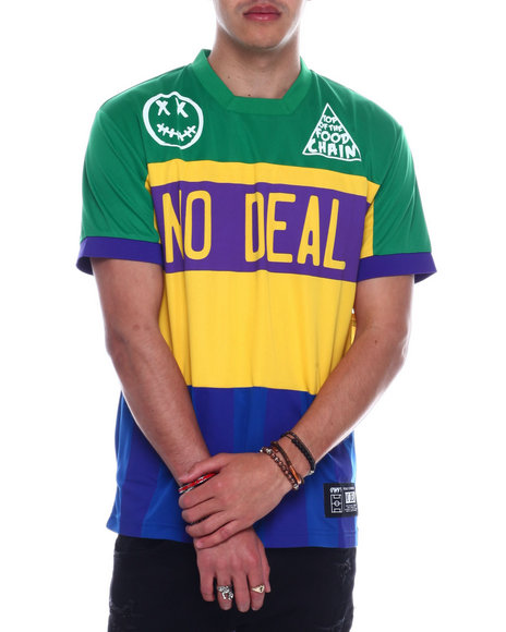 BWOOD - no deal brazil  Jersey tee
