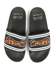 Footwear - Raised Logo Slides-2330678