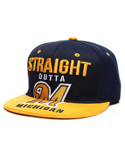 Hats - Straight Outta Michigan Snapback Hat-2330074
