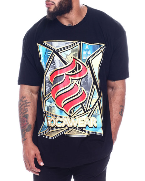 Rocawear - Shatter City S/S Tee (B&T)