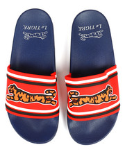 Footwear - Raised Logo Slides-2330686