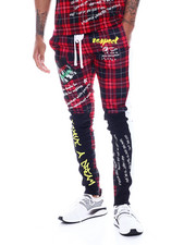 Buyers Picks - Plaid Track Pant-2331039