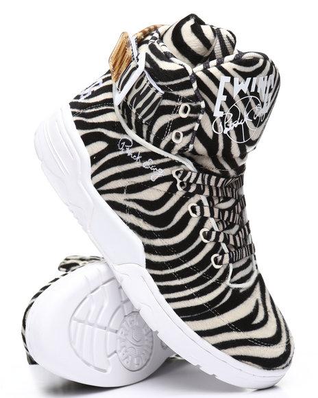 EWING - Ewing 33 Hi Zebra Sneakers