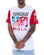 offbeat - TRIPLE PROFILE ANIME TEE-2331051