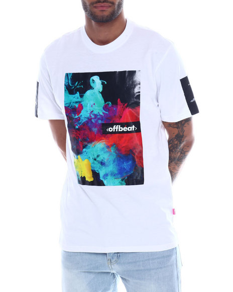 offbeat - INKDROP HEAT TRANSFER TEE