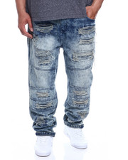 Jeans - Fashion Moto Jeans (B&T)-2330837