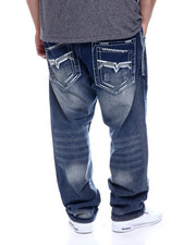 Jeans - Thick Stitch Rigid Jean (B&T)-2330946