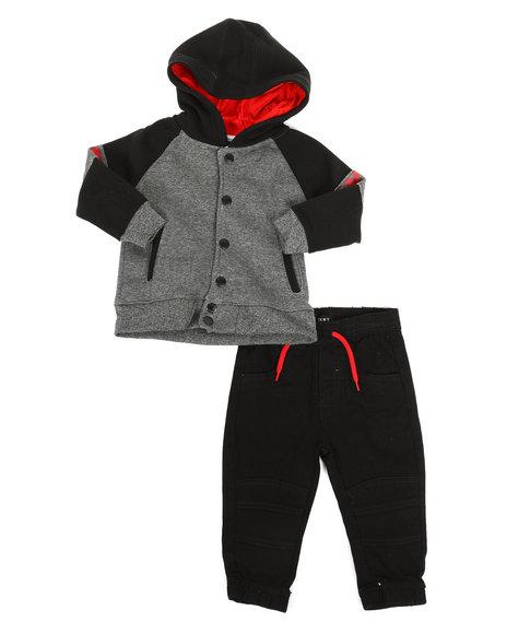DKNY Jeans - Thomas Ave 2 Piece Fleece Set (Infant)