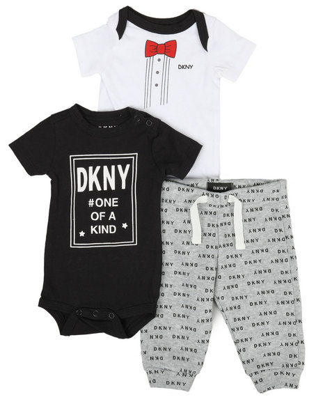 DKNY Jeans - One Of A Kind 3 Piece Set (Infant)