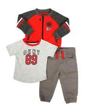 Boys - 2nd Ave 3 Piece Fleece Set (Infant)-2327496