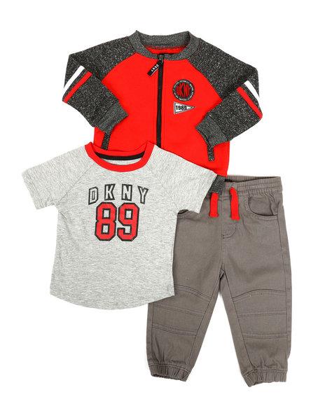 DKNY Jeans - 2nd Ave 3 Piece Fleece Set (Infant)