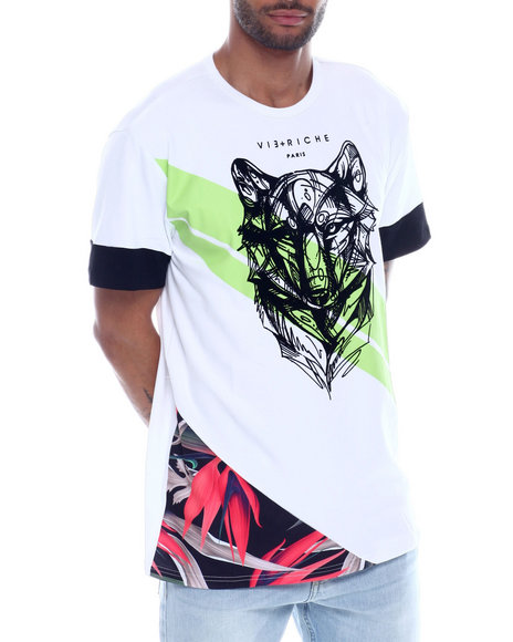 Vie + Riche - Wolf Cut and Sew Tee