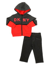 DKNY Jeans - Lagoon Ave 2 Piece Set (Infant)-2327512