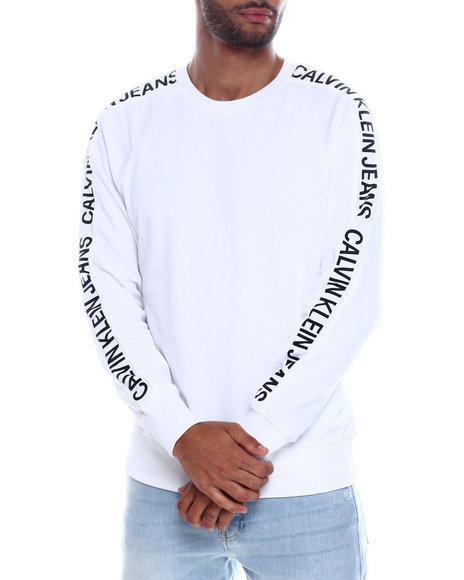 Calvin Klein - INSTITUTIONAL SIDE TAPE CREWNECK SWEATSHIRT