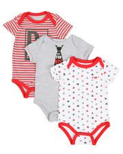 Infant & Newborn - Fun NYC 3PK Creeper Set (Infant)-2327039