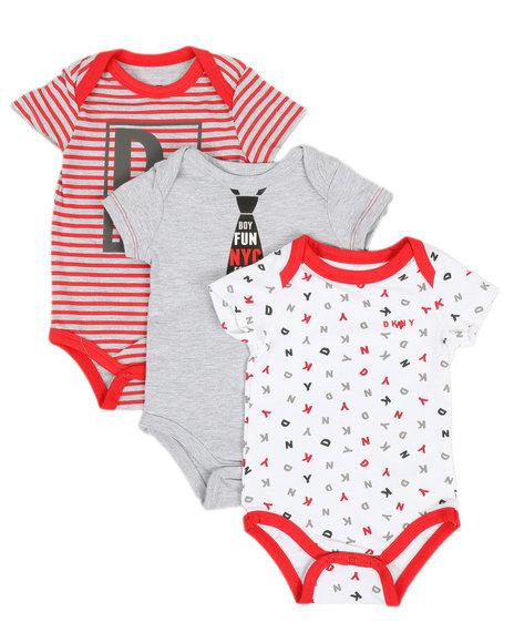 DKNY Jeans - Fun NYC 3PK Creeper Set (Infant)