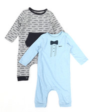 DKNY Jeans - DK New York 2-Pack Coverall Set (Infant)-2327043