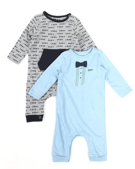 DKNY Jeans - DK New York 2-Pack Coverall Set (Infant)