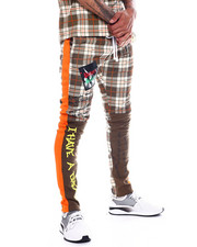Buyers Picks - Plaid Track Pant-2331045