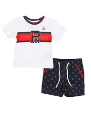 Infant & Newborn - Americana Sport 2 Piece Short Set (Infant)-2326791