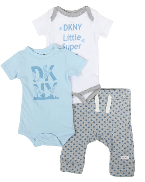 DKNY Jeans - Little Super Star 3 Piece Set (Infant)