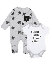 DKNY Jeans - NYC Star 2Pack Bodysuit & Coveralls Set (Infant))-2327049