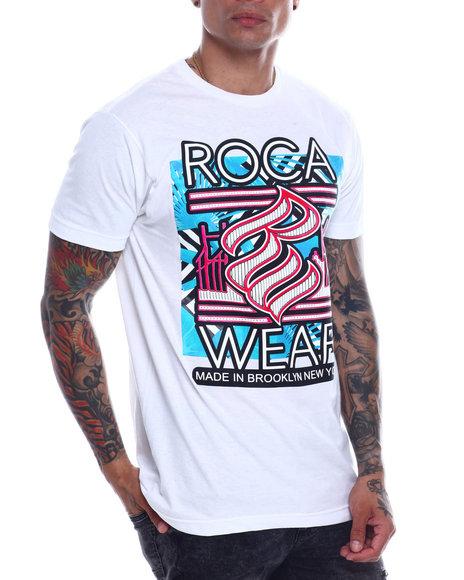 Rocawear - FLORAL BRIDGE TEE