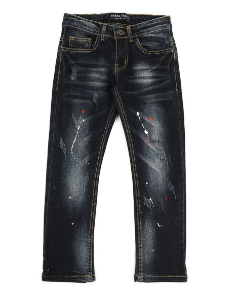 Arcade Styles - Rip & Repair Stretch Jeans (8-20)