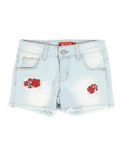 Girls - Embroidered Shorts (4-6X)-2330585