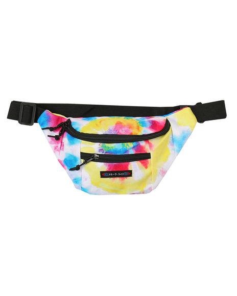 SMOKE RISE - Rainbow Tie Dye Fanny Pack