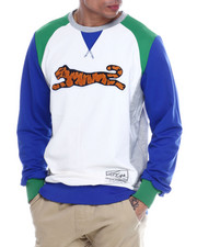 Global Movement Mens - Retro Logo Crewneck Sweatshirt-2332238