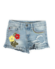 Vigoss Jeans - Ruffle Edge Shorts (4-6X)-2329451