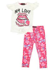 Girls - 2 Piece Knit Top & Legging Set (2T-4T)-2327027