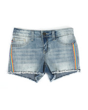 Bottoms - Diamond Stripe Shorts (7-16)-2329382