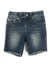 True Religion - Slim Single End Shorts (2T-4T)-2329225