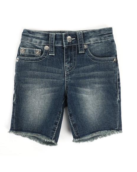 True Religion - Slim Single End Shorts (2T-4T)