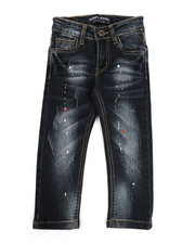 Boys - Rip & Repair Stretch Jeans (2T-4T)-2327966