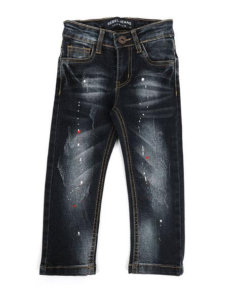 Arcade Styles - Rip & Repair Stretch Jeans (2T-4T)