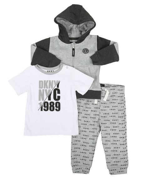 DKNY Jeans - NYC 1989 3 Piece Jacket Set (Infant)