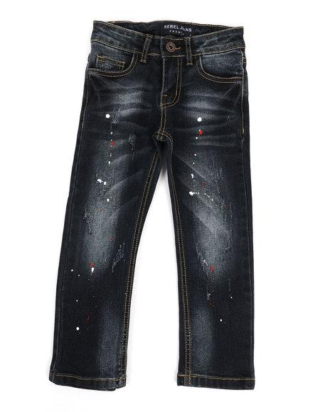 Arcade Styles - Rip & Repair Stretch Jeans (4-7)