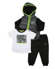 Boys - Fulton Street 3 Piece Jacket Set (Infant)-2327530