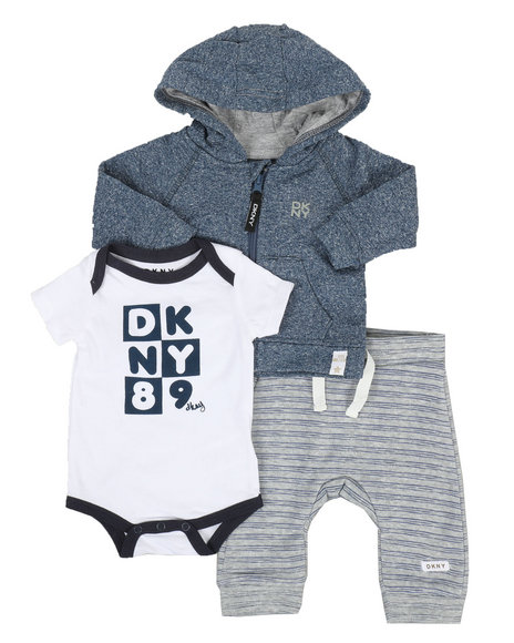1b5fca28eb9a Buy DK Downtown Baby 3 Piece Jacket Set (0-9MO) Boys Sets from DKNY ...